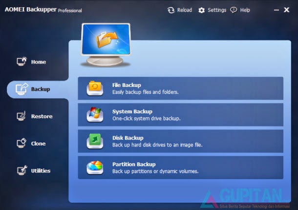 AOMEI Backupper Pro 2.0.1 Legal License Key Gratis