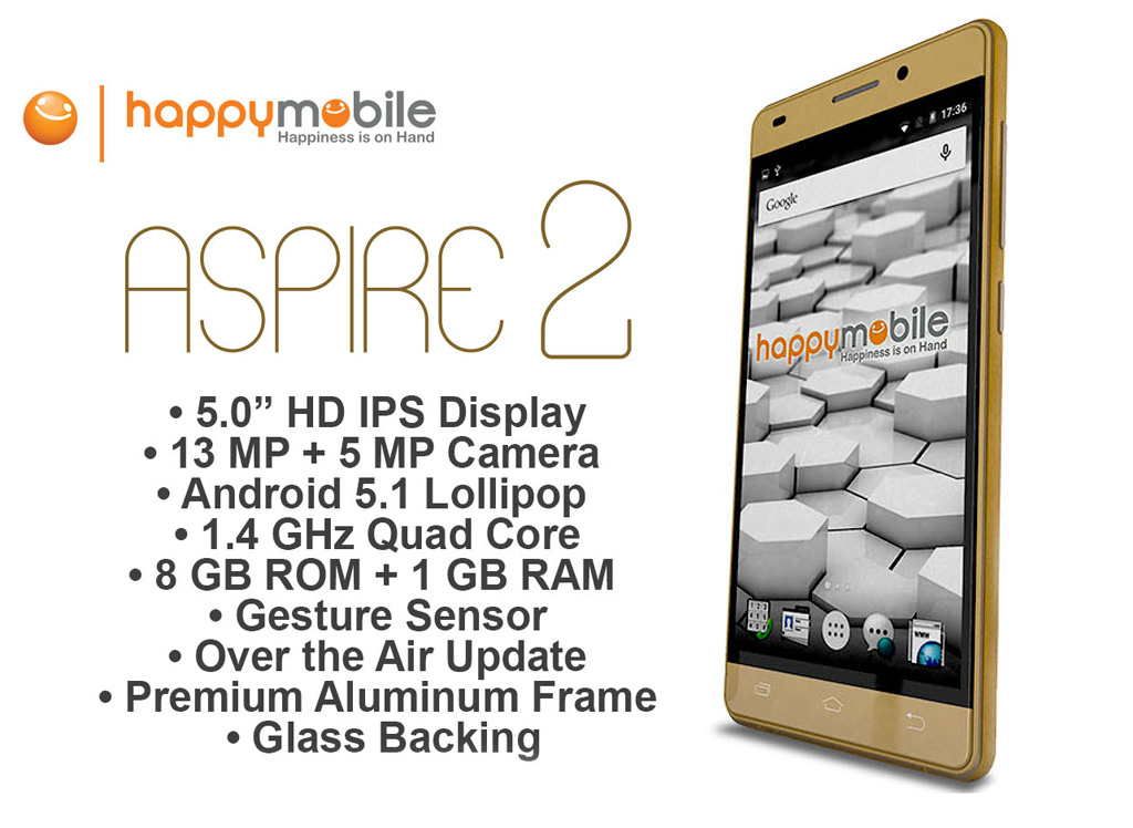 Happy Mobile Aspire 2