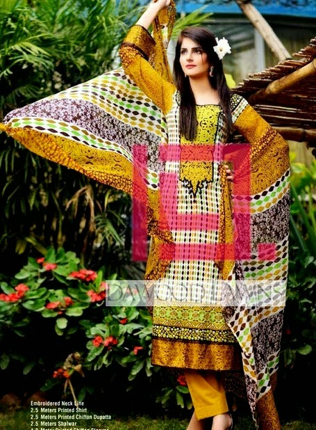 Dawood Liali Embroidered Lawn Collection