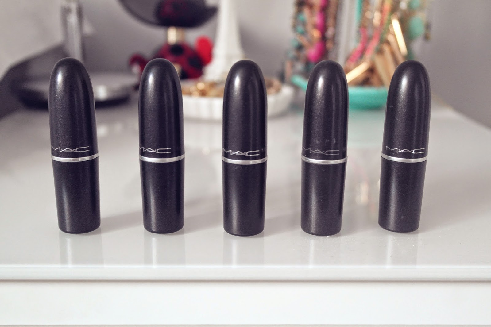 Beauty Blogger MAC Lipsticks