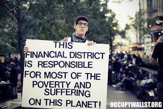 occupy wall street, ganhar dinheiro