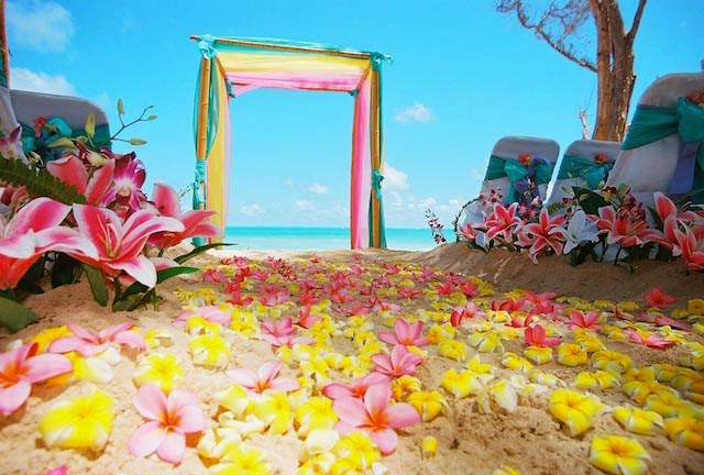 Decoracion de Bodas en la Playa, parte 3