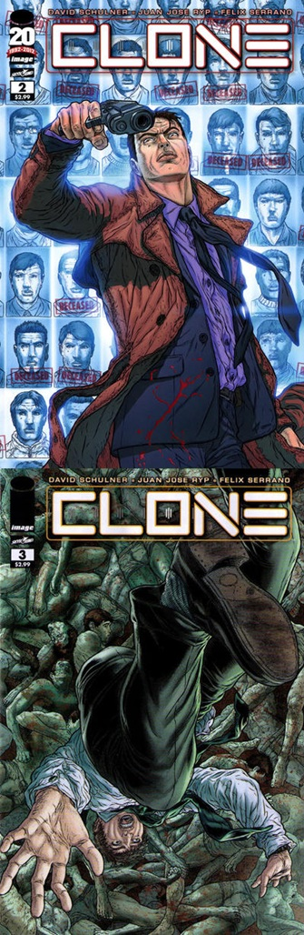 Clone # 1-3 - David Schulner Juan Jos Ryp