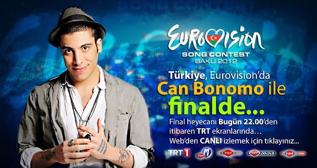 Can Bonomo, Eurovision Türkiye