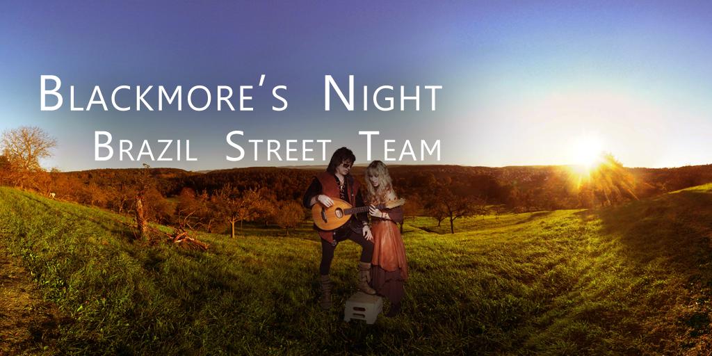 Blackmore's Night Brazil Street Team