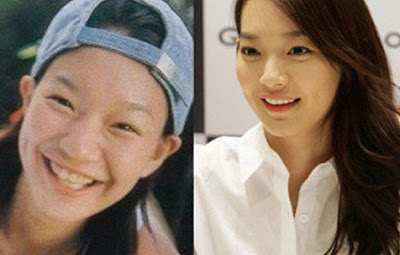 Shin Min Ah Before After