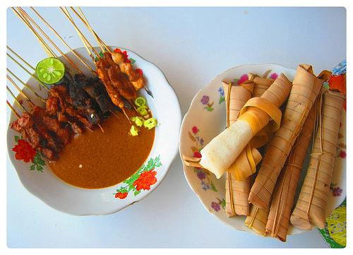 Kuliner Lombok Sate Bulayak Narmada