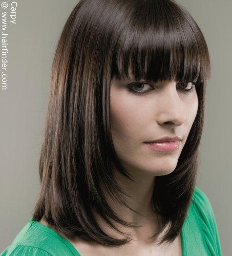 10 bellesalud cortes de cabello hasta los hombros
