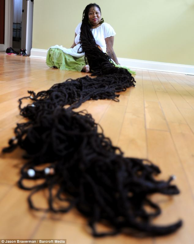 How Long is Enough? Woman with Longest Dreadlocks Vows ...