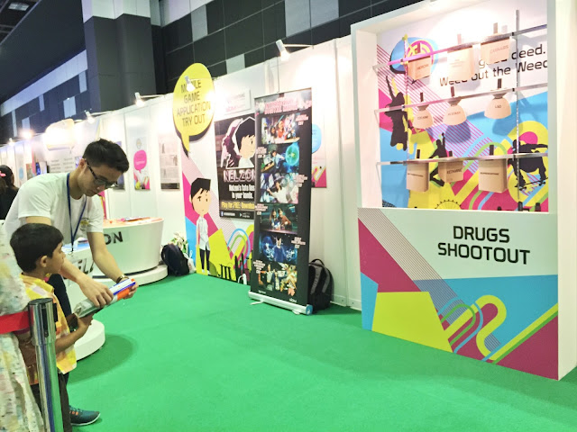 Singapore Anti-Drug Abuse Carnival 2015 - Game Booths 3