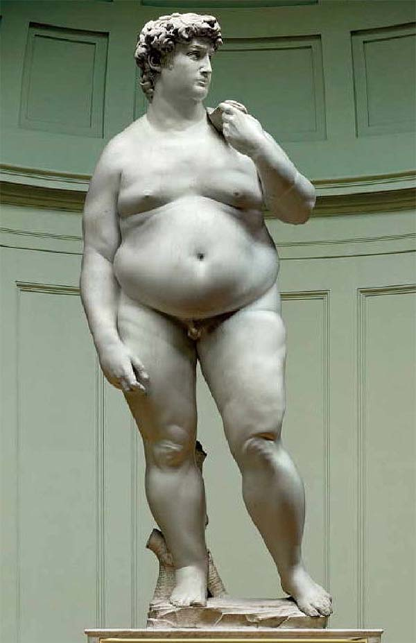male obesity, fat david, 男性肥胖, 人魚線