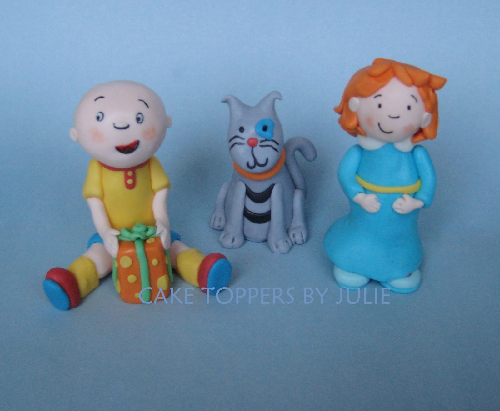 Custom Cakes by Julie Caillou Cake Toppers