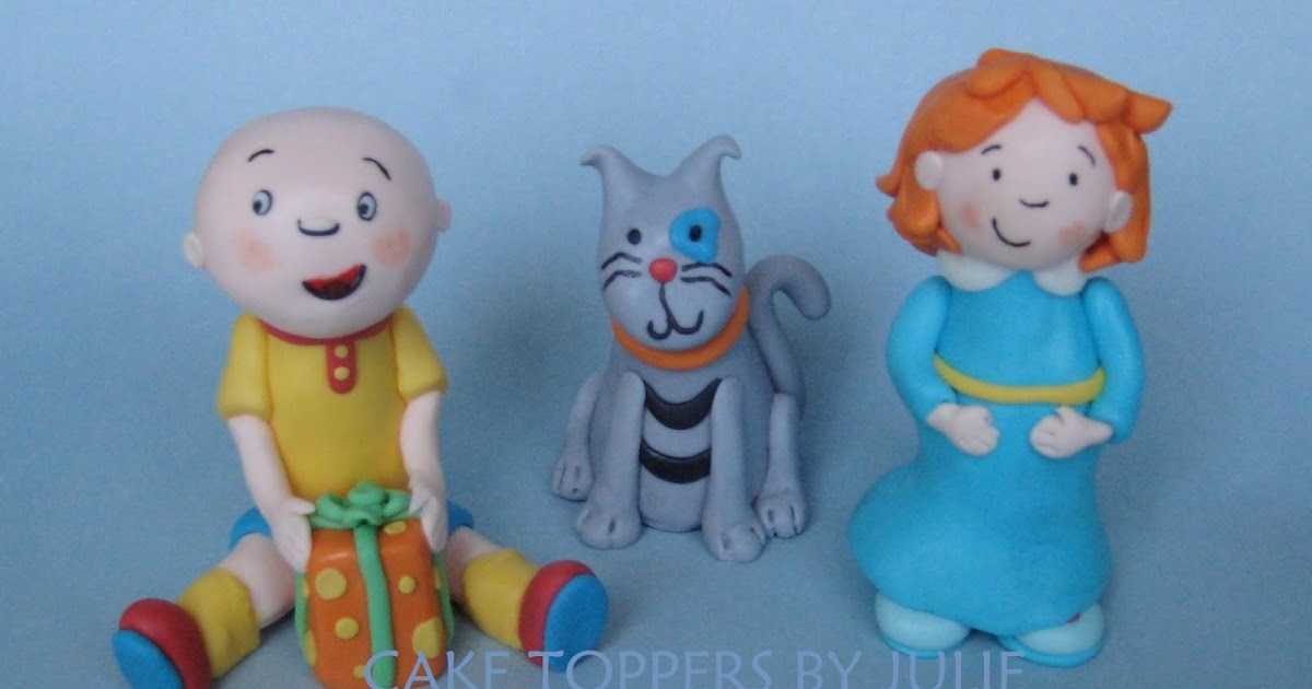 Caillou Birthday Cake Decorations