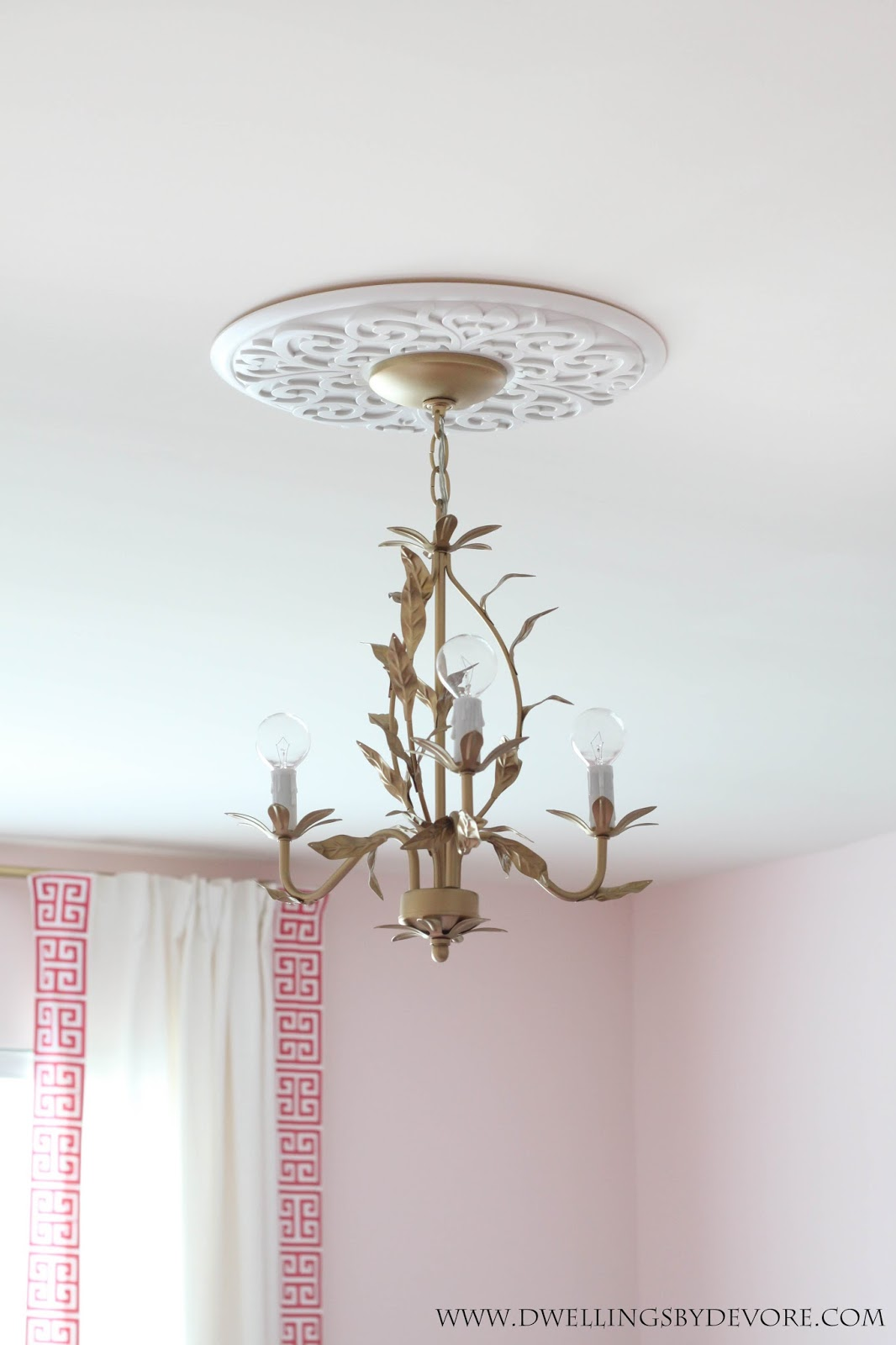 Dwellings by devore gold chandelier gold chandelier mozeypictures Images