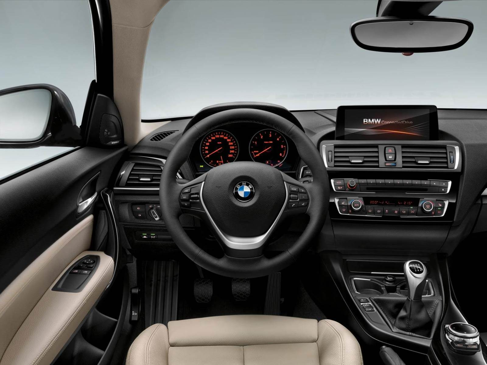 novo bmw s rie 1 2015 com facelift fotos e v deo oficiais. Black Bedroom Furniture Sets. Home Design Ideas