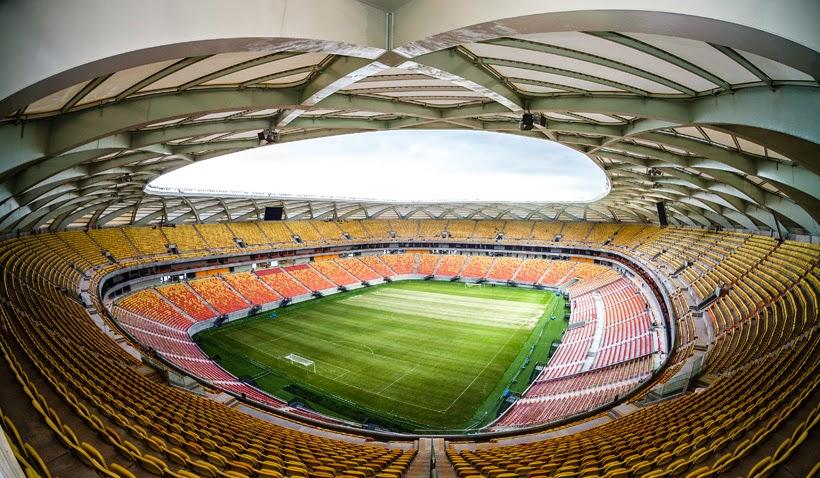 Estádio Arena da Amazônia em Manaus
