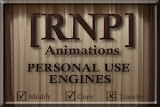 [RNP] Animations Personal Use Engines Shop: