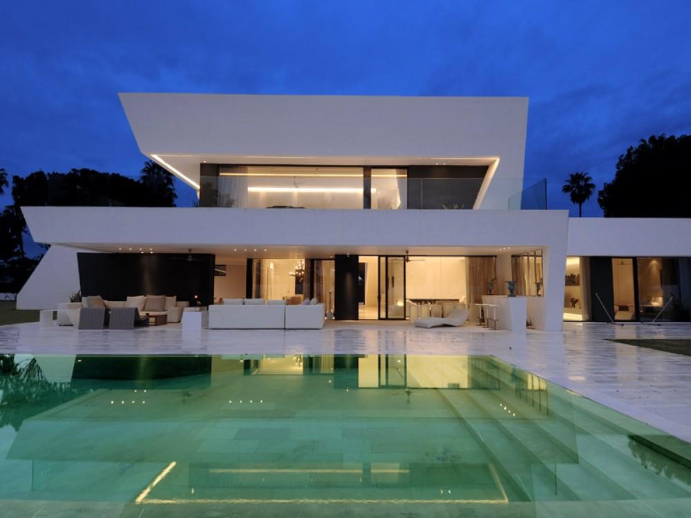 Ver fotos de casas bonitas escoja y vote por sus fotos de - Casas blancas modernas ...