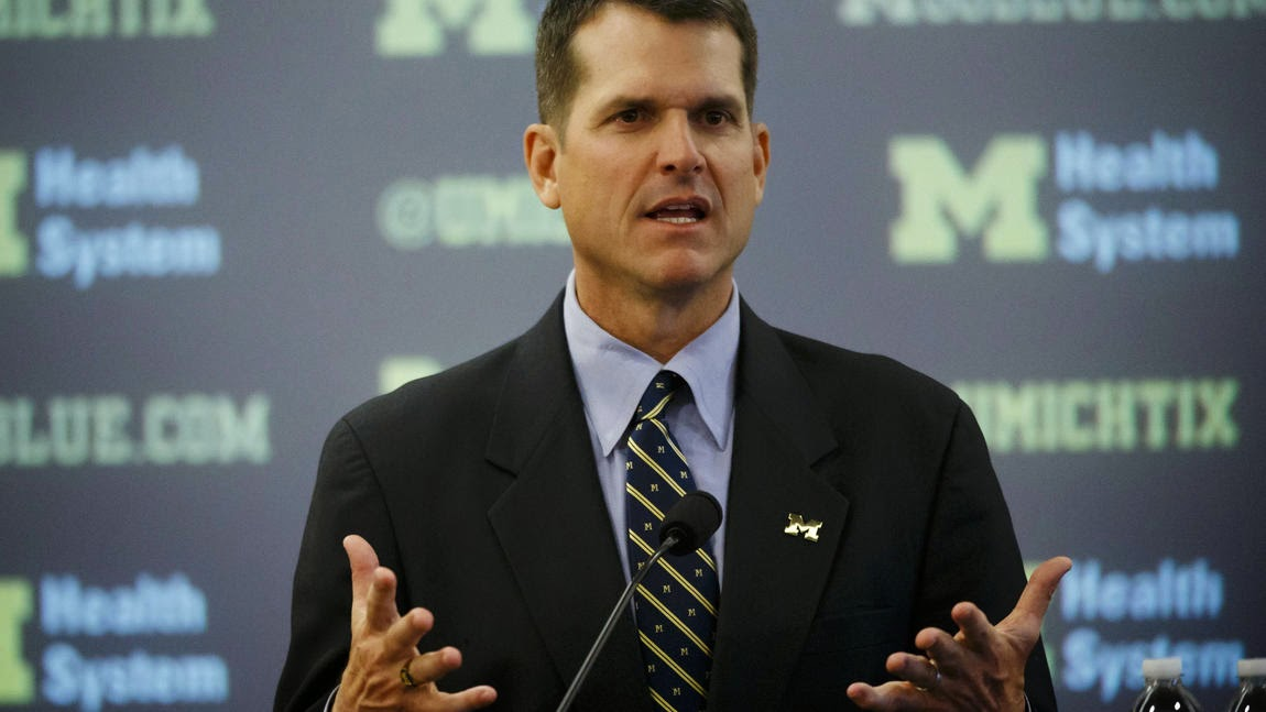 Jim Harbaugh allegedly trolls Urban Meyer on Twitter.