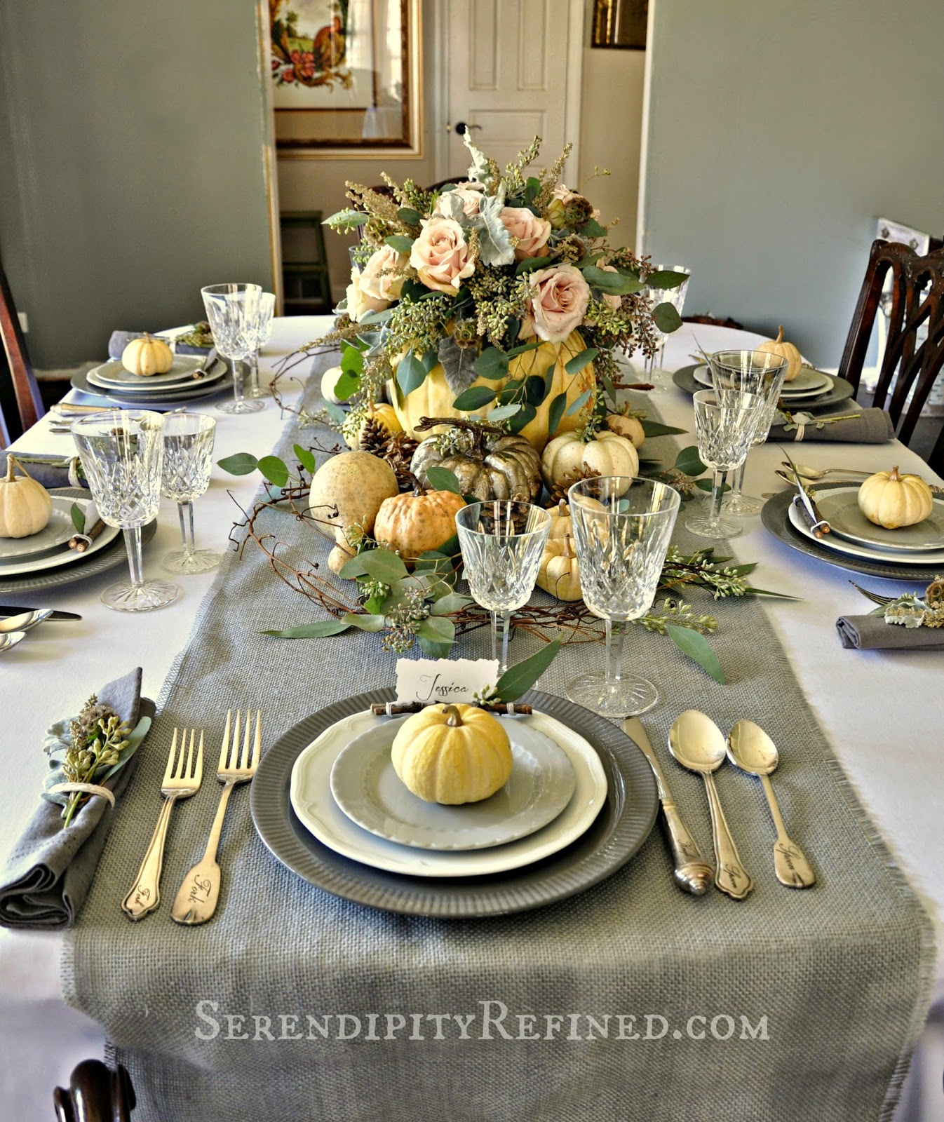 Serendipity Refined Blog Rustic Gray and White and Pink