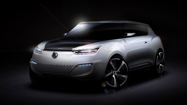 e-XIV Concept by SsangYong front