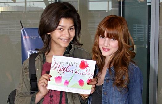 pictures of zendaya and bella. Zendaya and Bella Thorne,