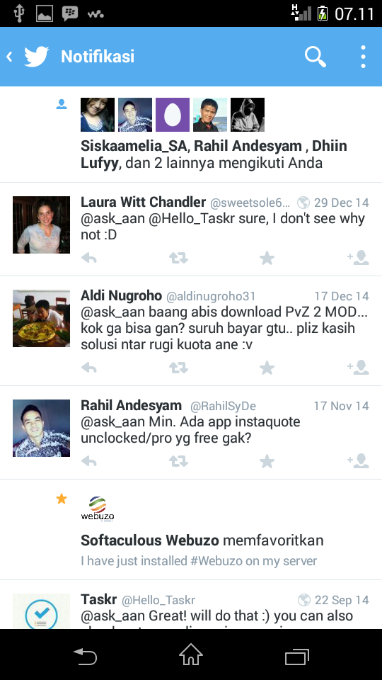 Twitter for Android Terbaru