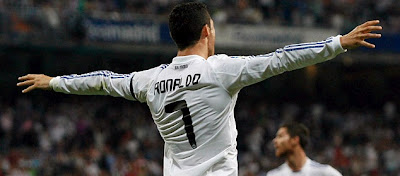 Cristiano scored a hat-trick against Getafe