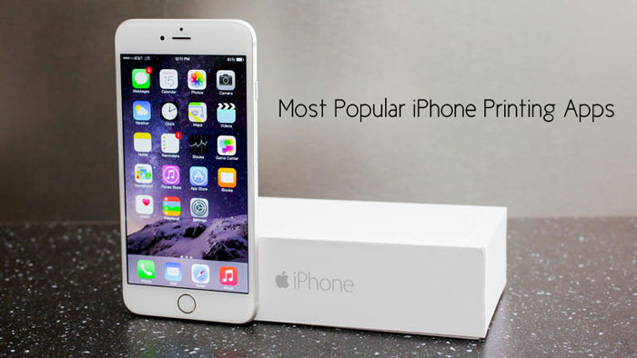 Most Popular iPhone Printing Apps