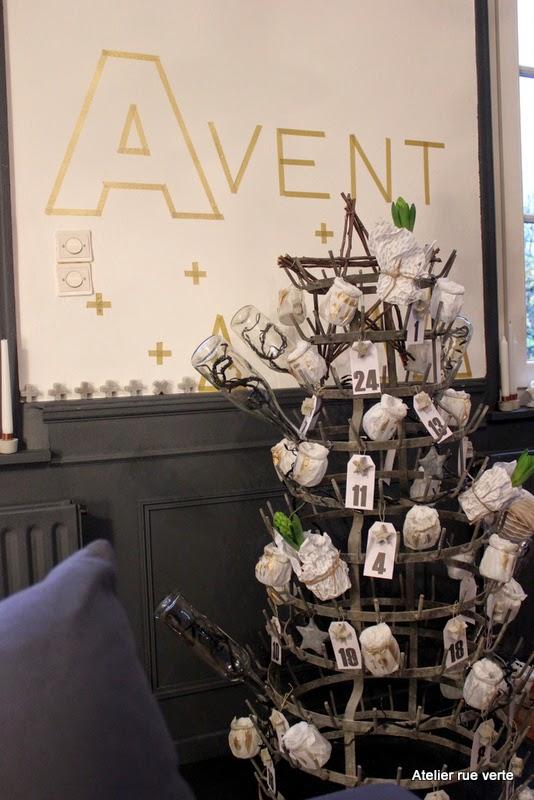 Calendrier de l'Avent / Photo Atelier rue verte /