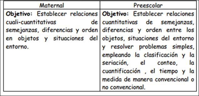 Procesos Lógicos Matemáticos en el Preescolar