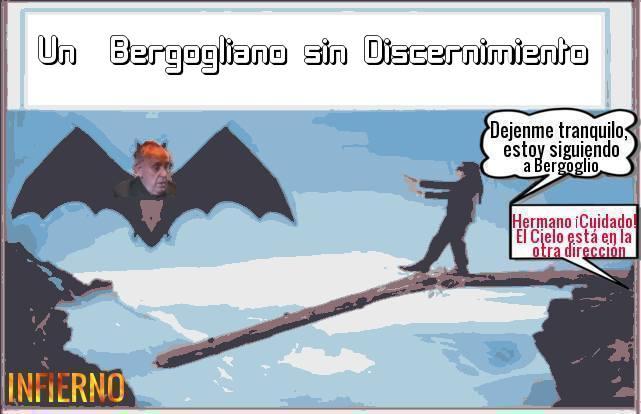 Sinónimos  de Bergoglianismo: Obstinado y Ciego.