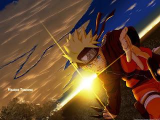 Naruto al atardecer