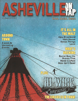 Asheville local beer magazine AVL