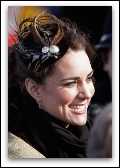 kate middleton hair up