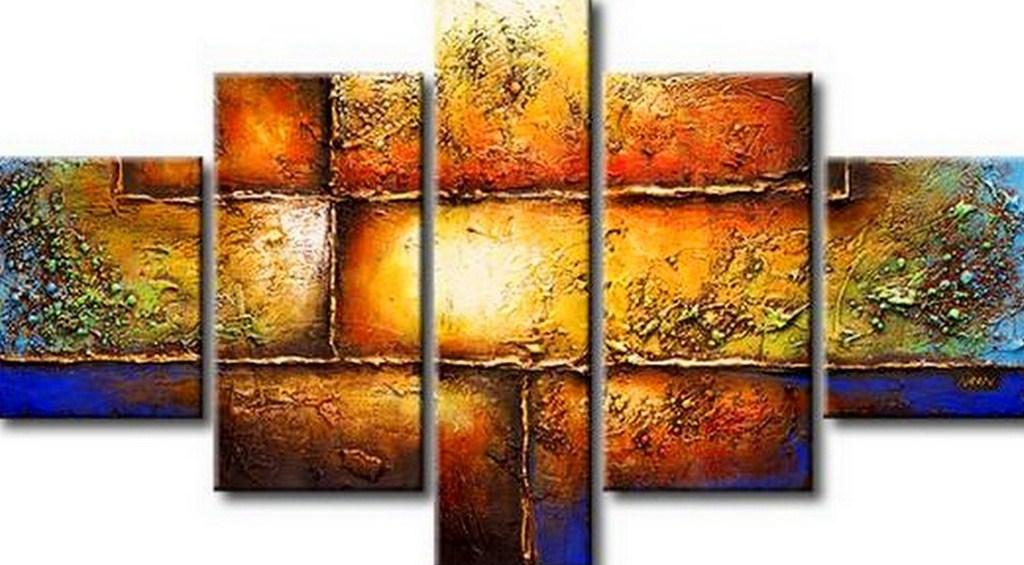 Cuadros pinturas oleos abstracto for Imagenes de cuadros abstractos faciles de hacer