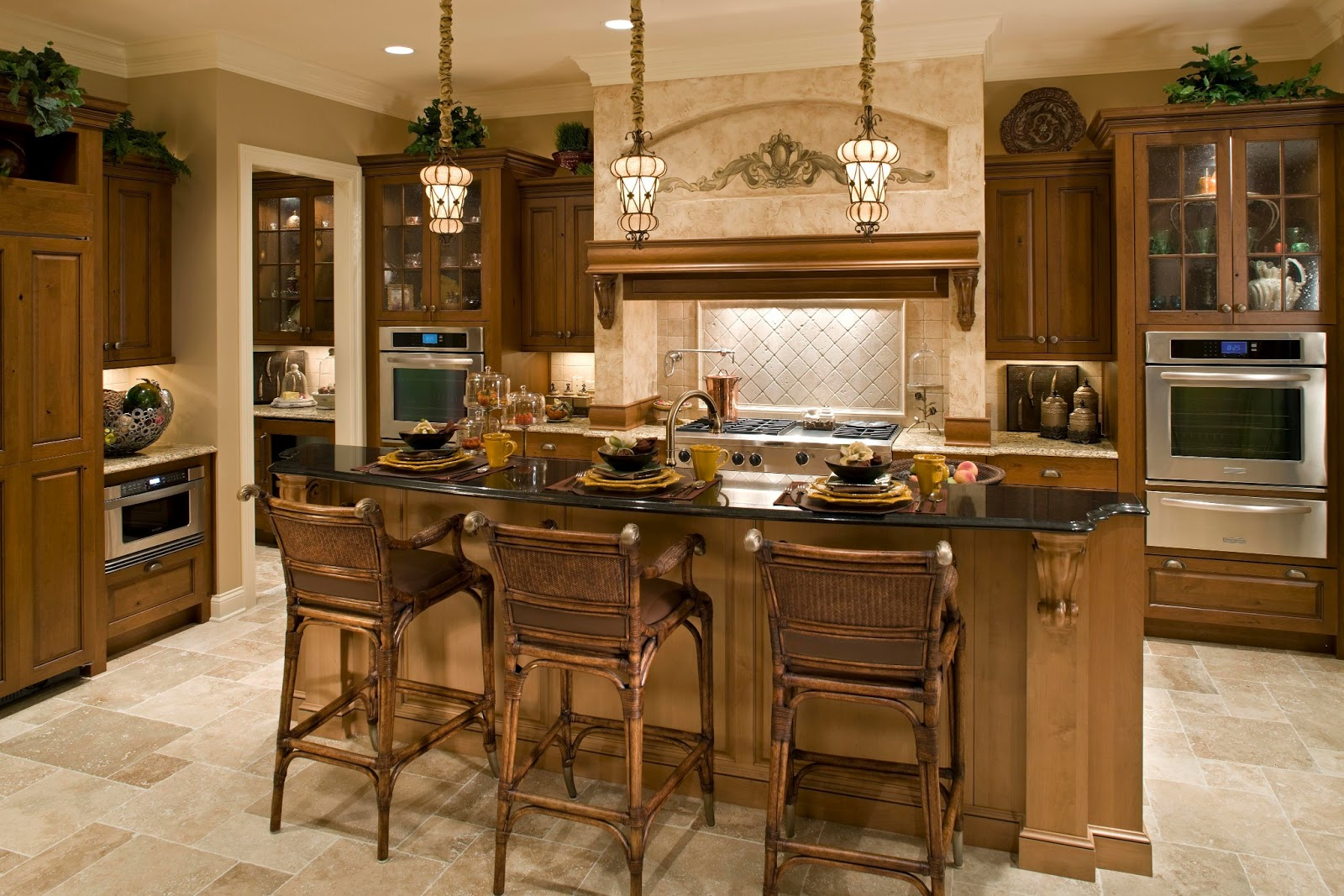 KLM Builders Brentwood model kitchen design