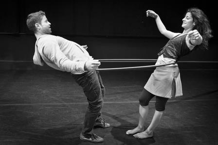 B-Orders no circo, a cultura sobre o ser palestino