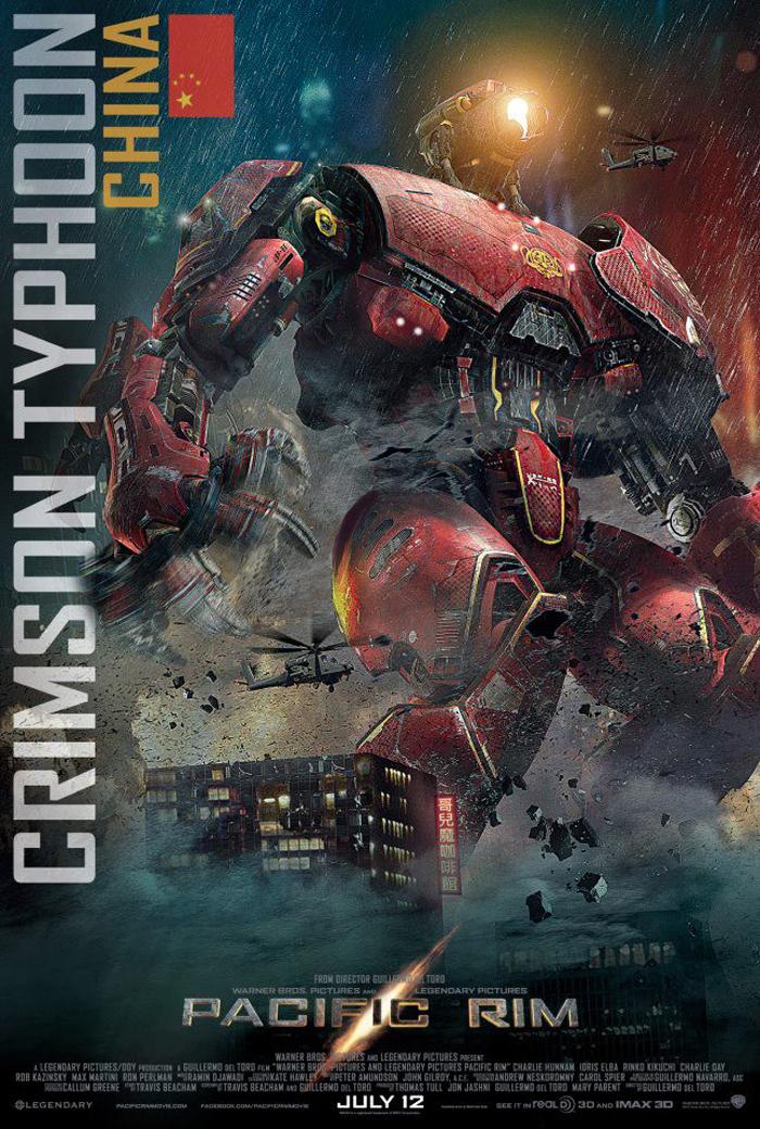 Robots de Pacific Rim