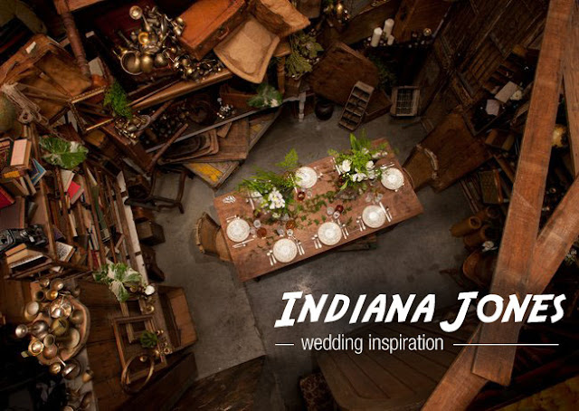 &quot;Indiana Jones&quot; Wedding Inspiration