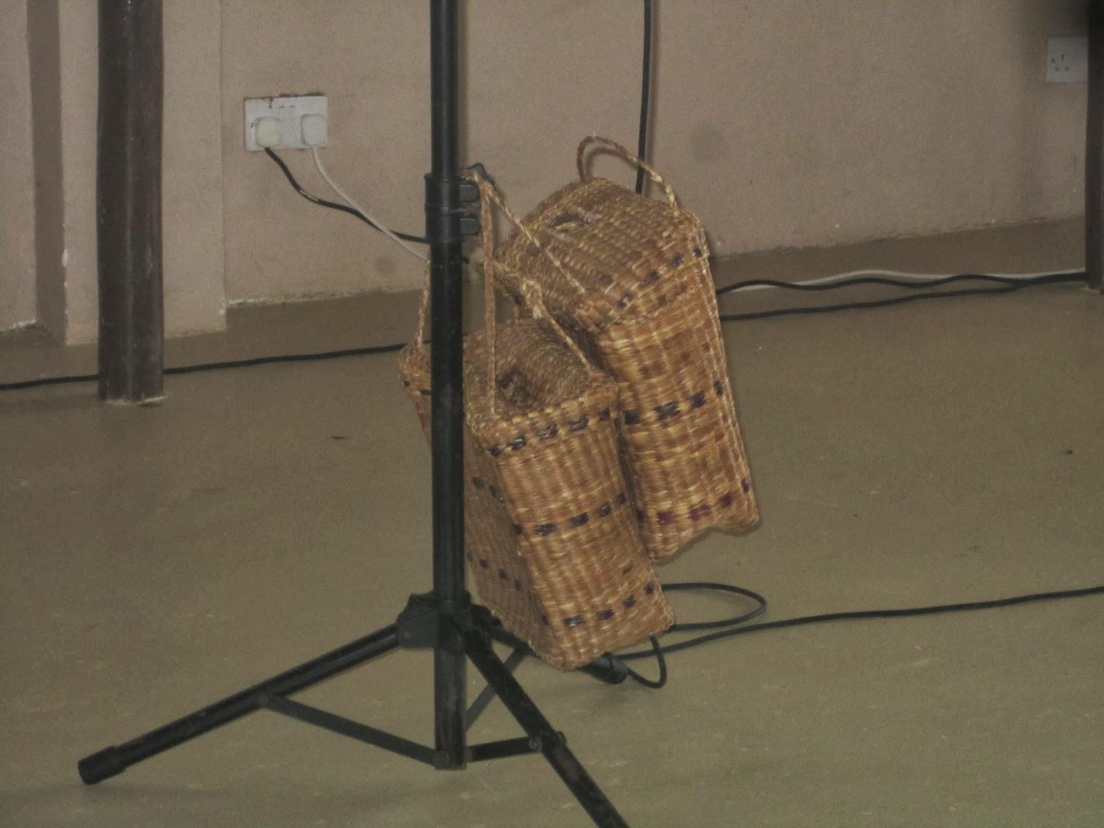 church offering baskets