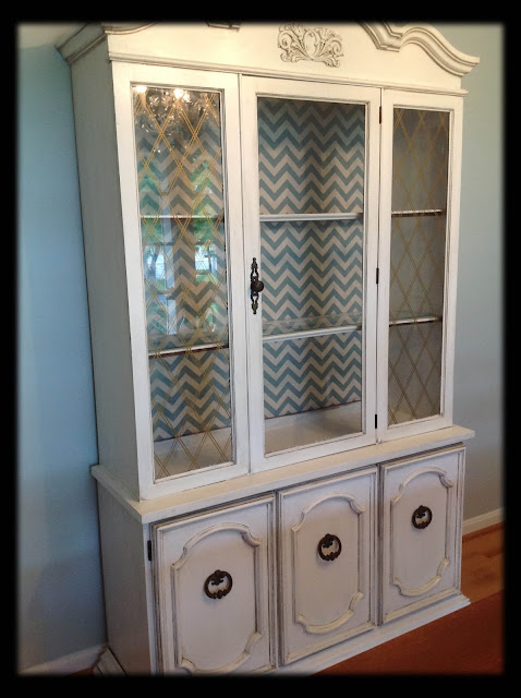 Home Sweet Hurn China Cabinet Makeover