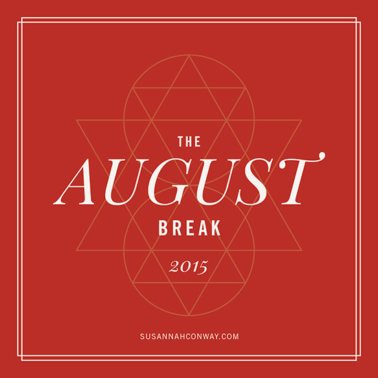 Yeah August Break is back!!
