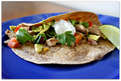 5-Ingredient Slow Cooker Chicken Taco Recipe