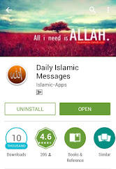 Daily Islamic Messages App