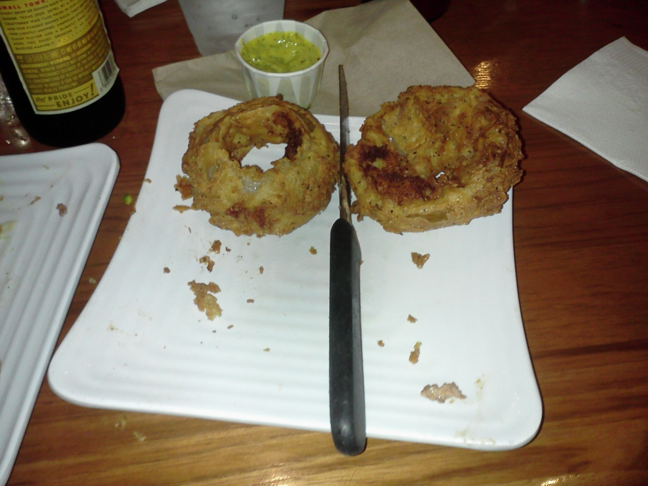 Liberty burger onion rings