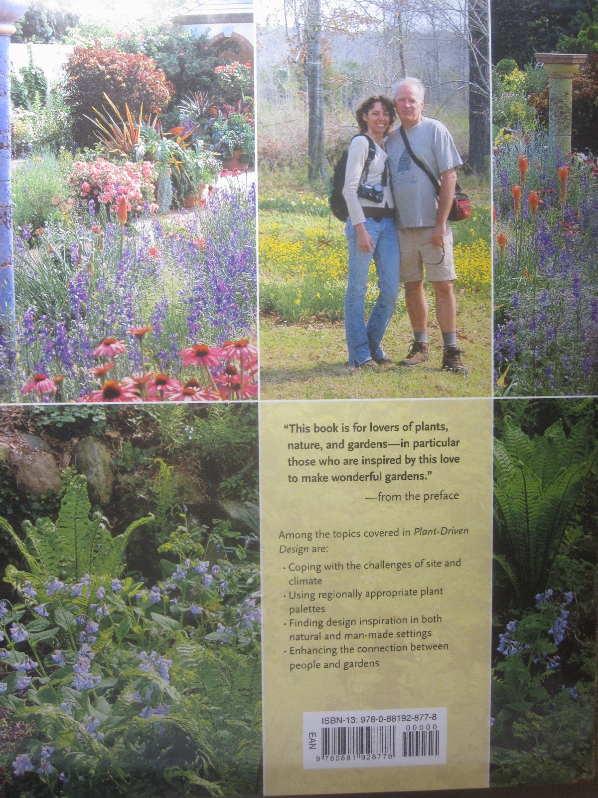 Tropical texana plant driven design garden book review for Garden design workbook