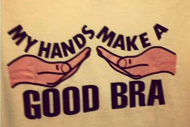 My Hands Make a Good Bra shirt