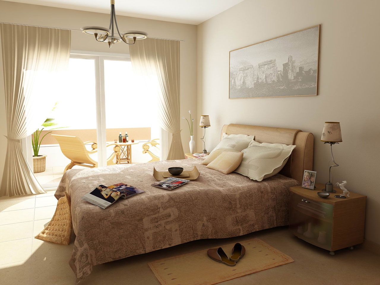 DORMITORIOS DECORADOS EN COLORES TIERRA  Dormitorios Con ...