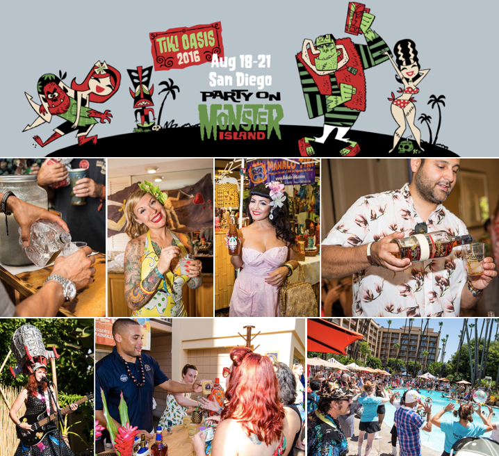 Enter to win 2 Weekend Passes to Tiki Oasis 2016 -  August 18-21